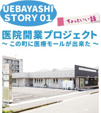 UEBAYASHI STORY 01 医院開業プロジェクト ~ この町に医療モールが出来た ~